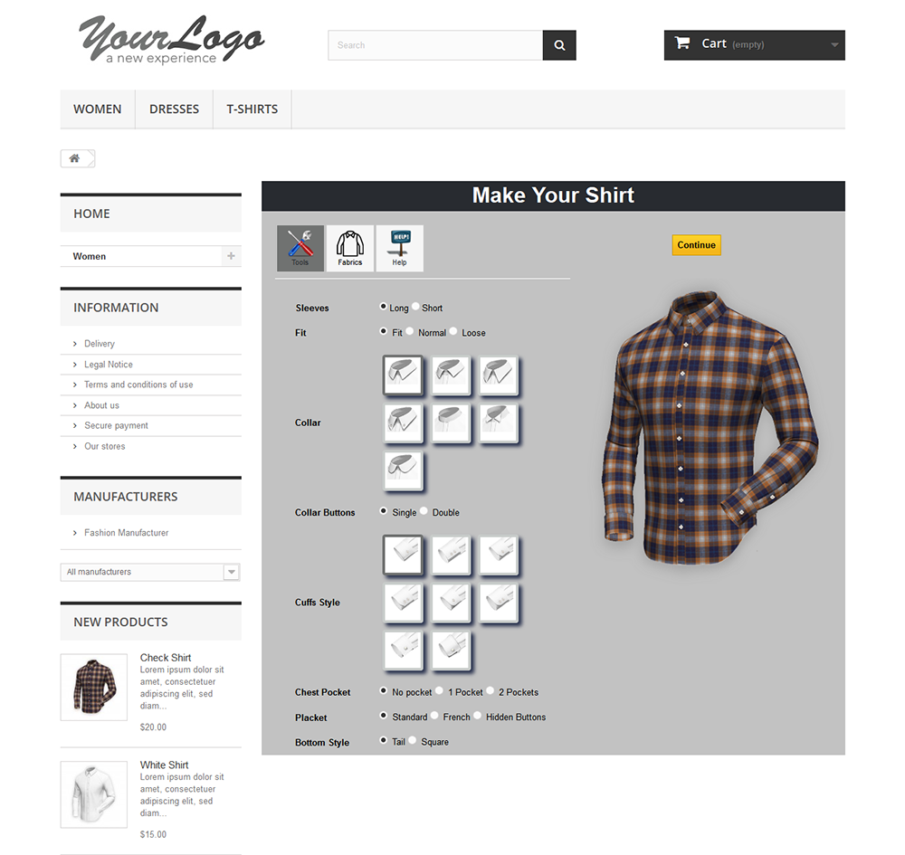 Customized Shirts Online