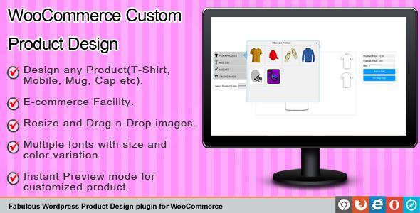 CodeInterest - Woocommerce Fabulous Custom Product Designer